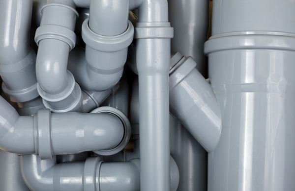 Grey PVC is a possible plumbing material