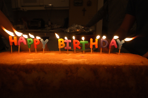 Happy Birthday to Saltwater Aquarium Blog, which is three years old today