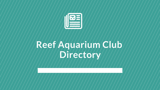 reef aquarium club directory