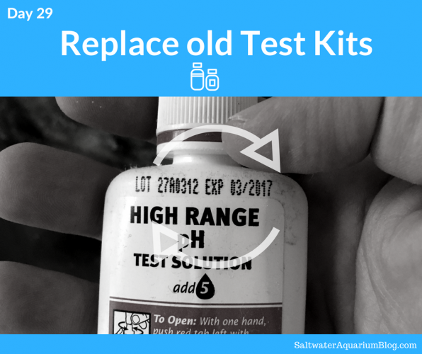 Replace old test kits