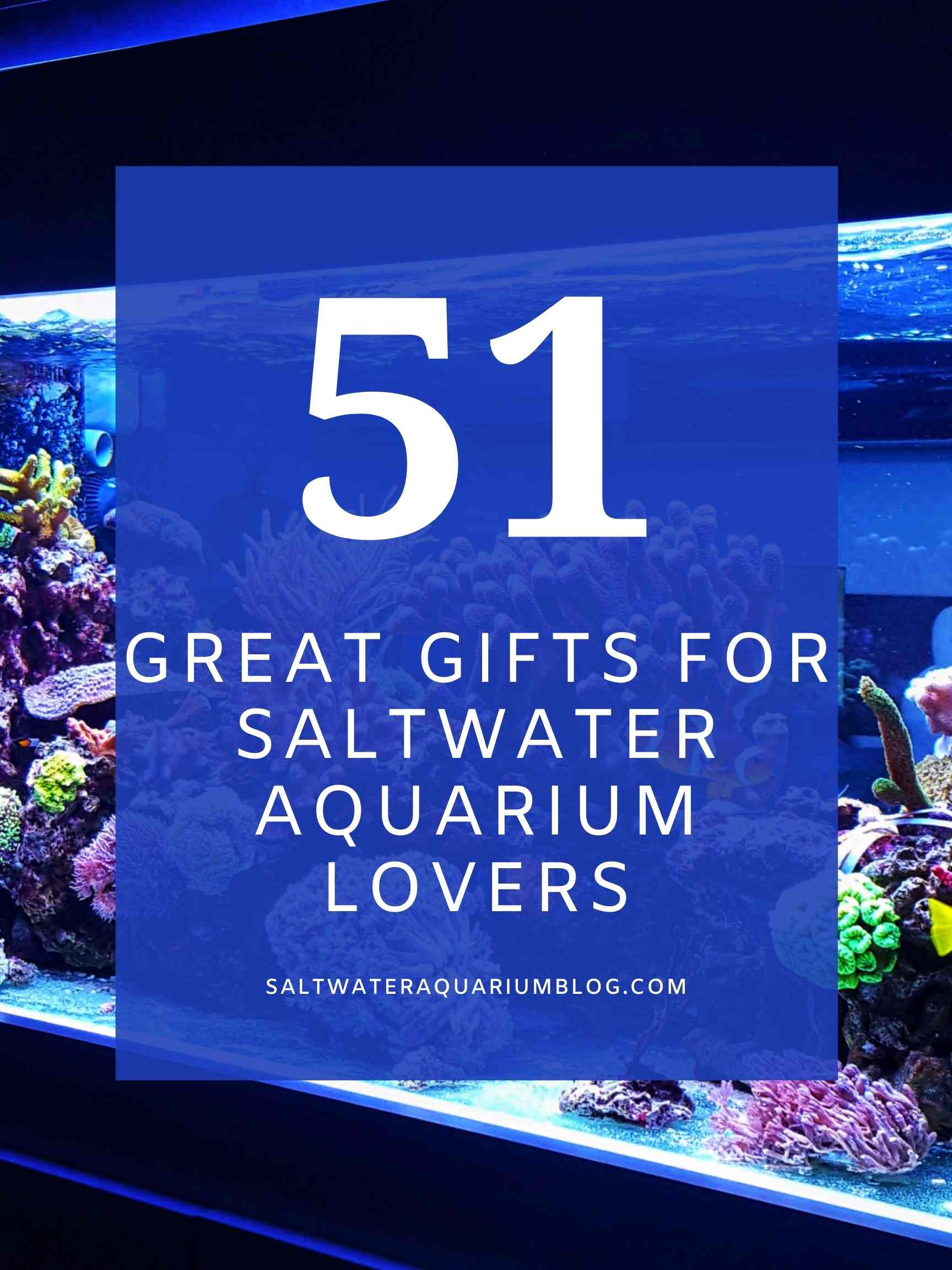 51 great gifts for saltwater aquarium lovers