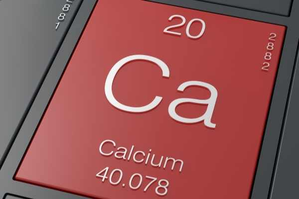 Calcium from periodic table of elements