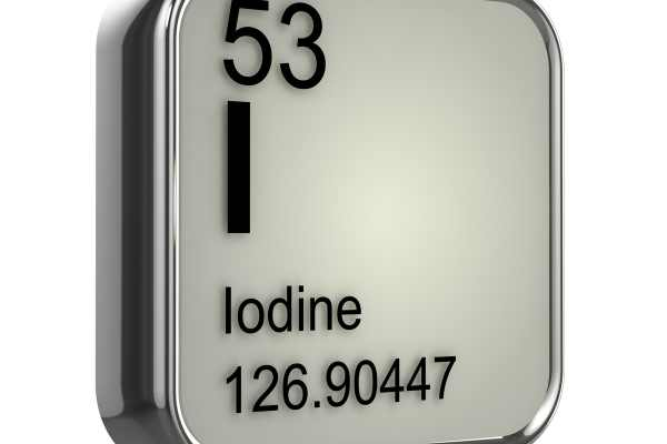iodine is the 53rd element on the periodic table