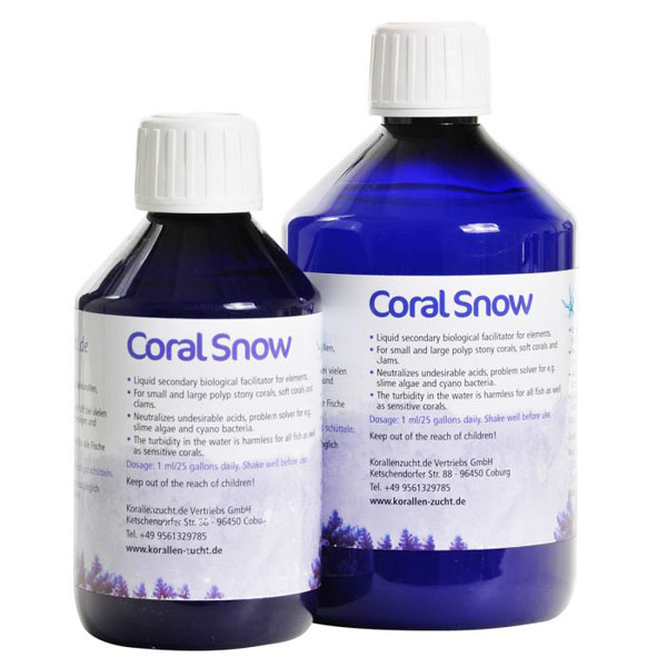 Coral Snow is one method of treating vermetid snails